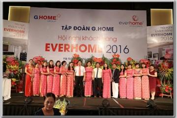 Hội nghị khách hàng Công ty Chăn ga gối đệm Everhome 2016