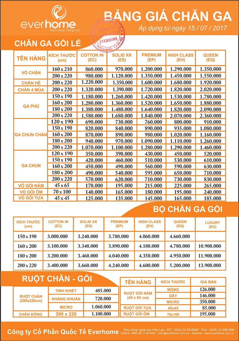 BẢNG-GIÁ-CHĂN-GA-everhome-2017-800